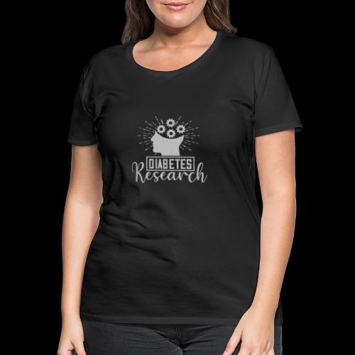 diabetes research - T-shirt Premium Femme