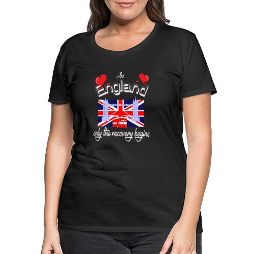Urlaub England englisch lernen Ferien in England - Frauen Premium T-Shirt