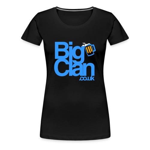 BIg Clan Logo Light Blue - Women's Premium T-Shirt