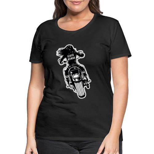 Biker Woman - Camiseta premium mujer
