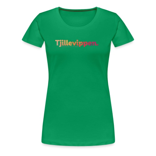 En podd om teknik - Second Edition Black - Premium-T-shirt dam