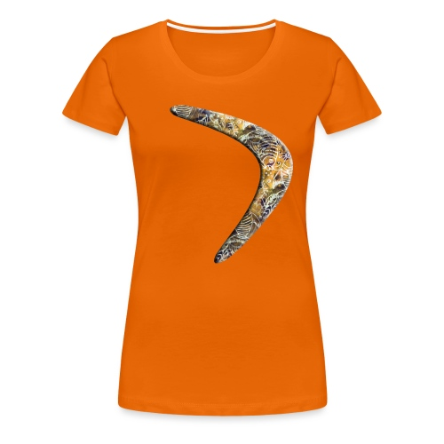 Bumerang Fische - Frauen Premium T-Shirt