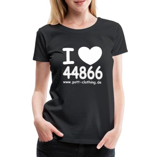I LOVE 44866 - Frauen Premium T-Shirt