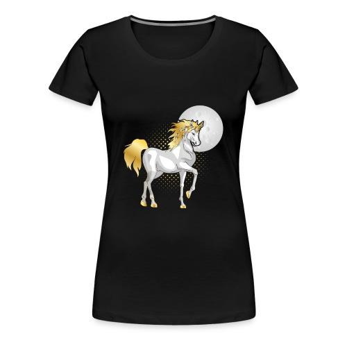 moonlight the unicorn - Women's Premium T-Shirt
