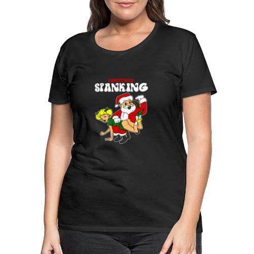 Christmas Spanking - Women's Premium T-Shirt