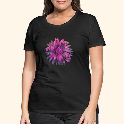 Herbstblume - Frauen Premium T-Shirt