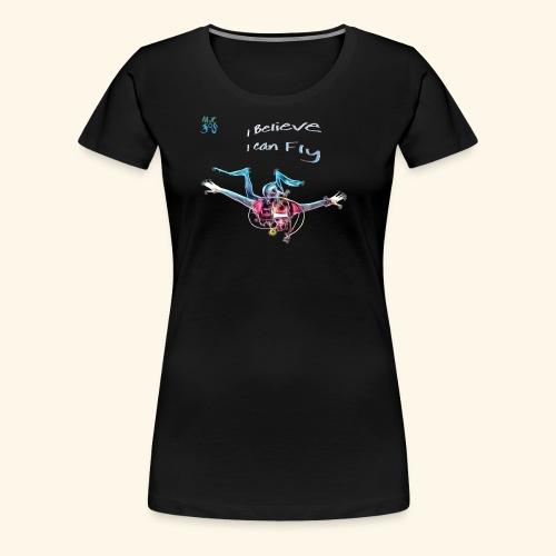 fly: night dive - Women's Premium T-Shirt