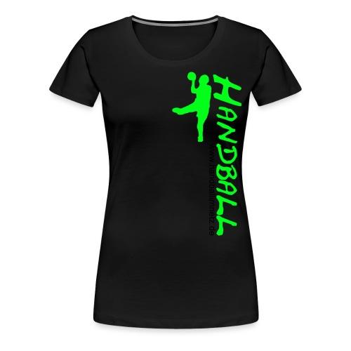 HIN Werfer Grün Schwarz - Frauen Premium T-Shirt