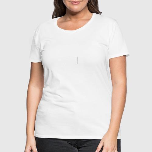 SMS W - Dame premium T-shirt