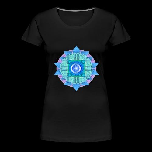 mandala 3 - Women's Premium T-Shirt