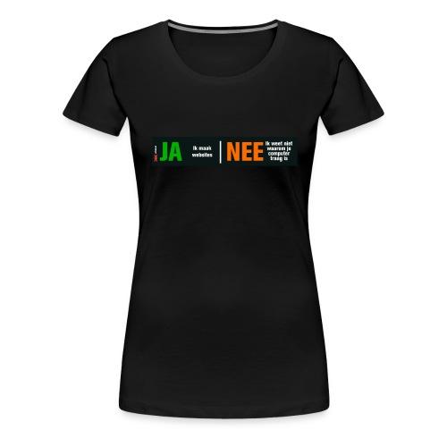 meisjeroze - Vrouwen Premium T-shirt