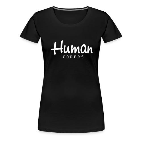 LOGO BLANC 1000px png - T-shirt Premium Femme