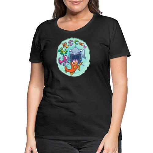 Big fish eat little fish and vice versa - Women's Premium T-Shirt