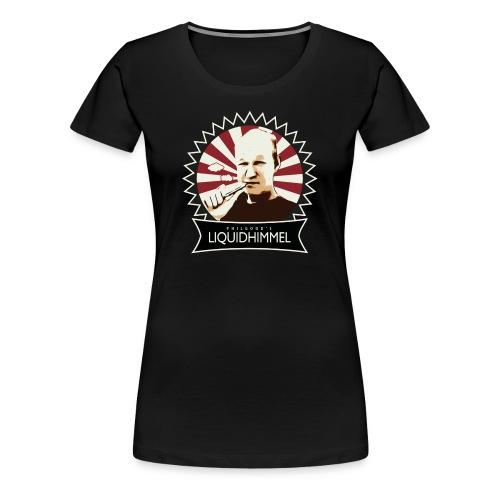liquidhimmel_weiß - Frauen Premium T-Shirt
