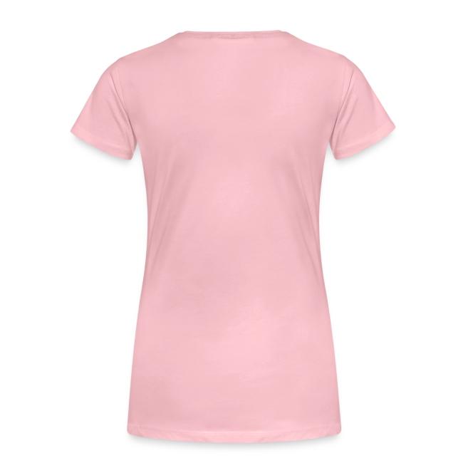 Vorschau: Ich arbeite hart - Katze - Frauen Premium T-Shirt