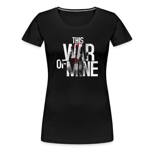 This War of Mine Logo - Women's Premium T-Shirt