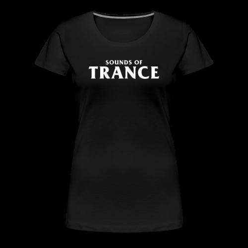 Sound Of Trance - Women's Premium T-Shirt
