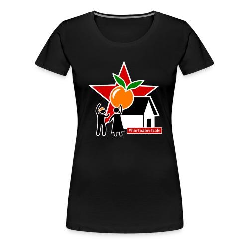 Hortoabertzale - Camiseta premium mujer
