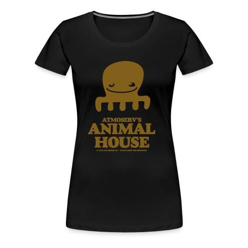Animal House Octopus - Frauen Premium T-Shirt