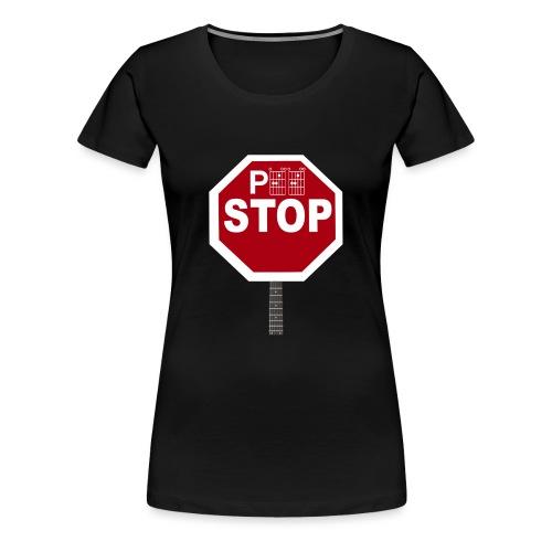 Pee Stop for Concert Goers! - Women's Premium T-Shirt