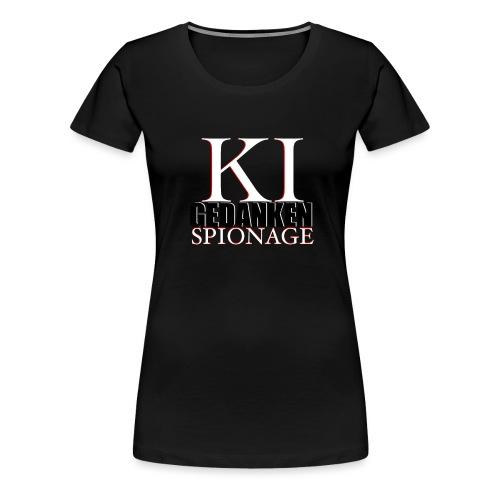 KI -Künstliche Intelligenz - Frauen Premium T-Shirt