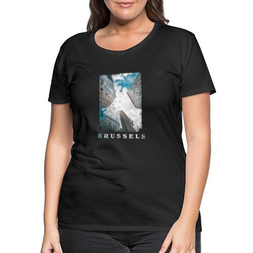 Brussels   Architecture - Vrouwen Premium T-shirt