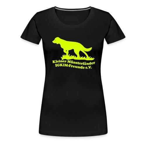 igkim79u59 - Frauen Premium T-Shirt