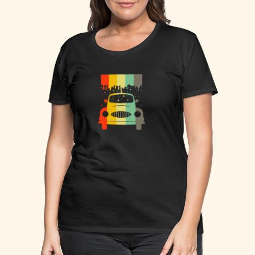 Retro Car Vintage Tee Men Women Gift Idea - Frauen Premium T-Shirt