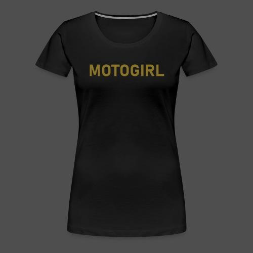 motogirl - Frauen Premium T-Shirt