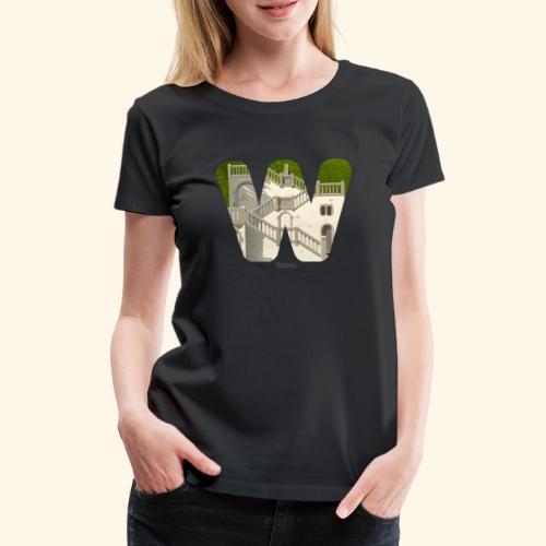 Vogelsauer Treppe - Frauen Premium T-Shirt