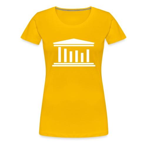 TST Logo White - Women's Premium T-Shirt