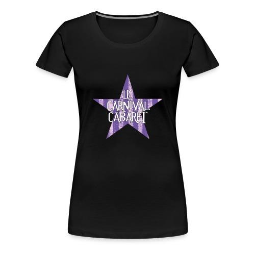 bonnet LCC noir etoie violette - Women's Premium T-Shirt