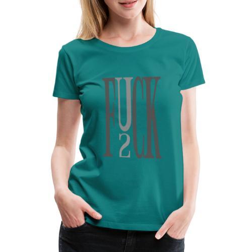 CROW - F_you_2 - Frauen Premium T-Shirt