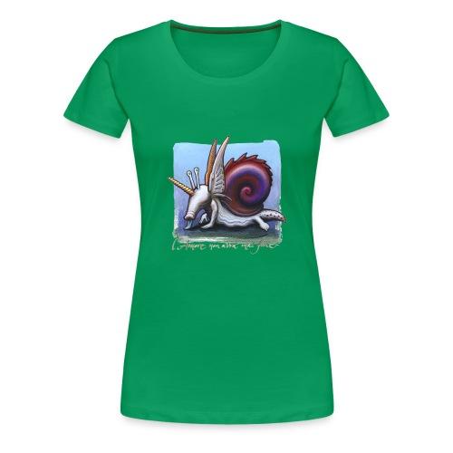 Unichiocciolo - Maglietta Premium da donna