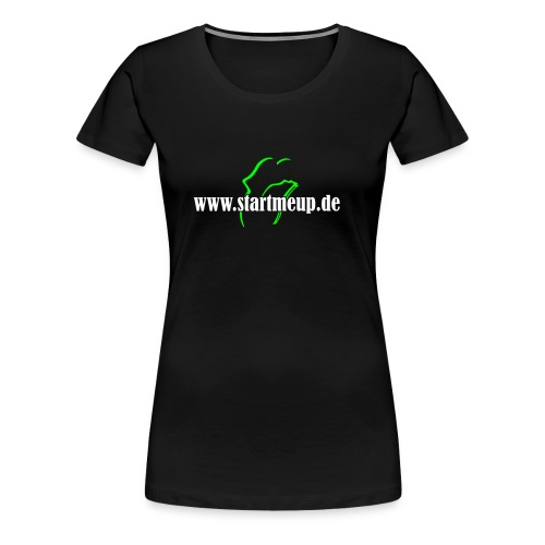 startmeup 02 - Frauen Premium T-Shirt