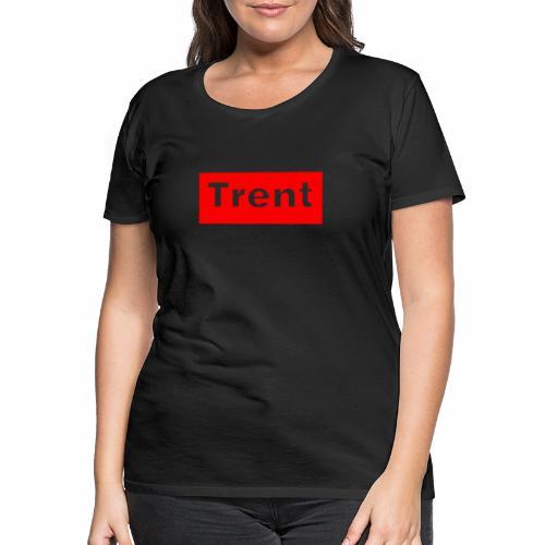 TRENT classic red block - Women's Premium T-Shirt