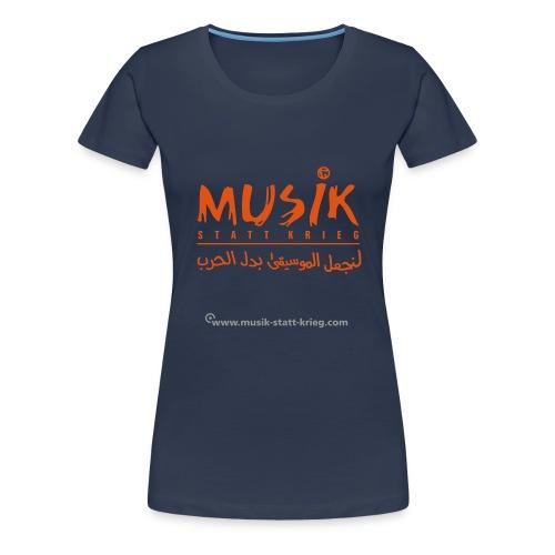 msk tshirt frontDesign - Frauen Premium T-Shirt