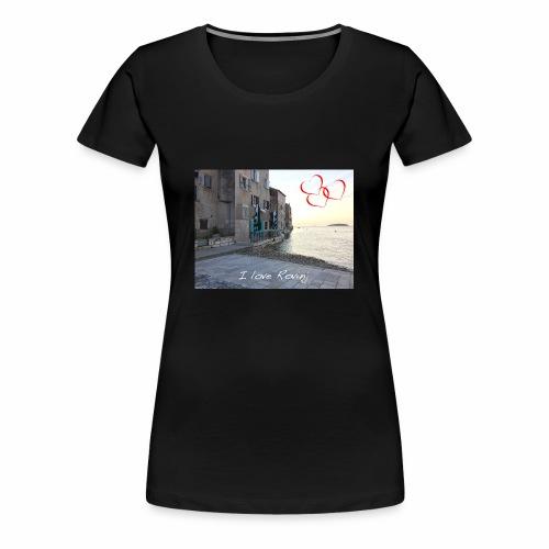 I love Rovinj - Frauen Premium T-Shirt