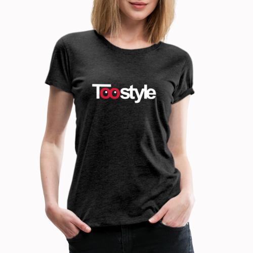 Toostyle white - Maglietta Premium da donna
