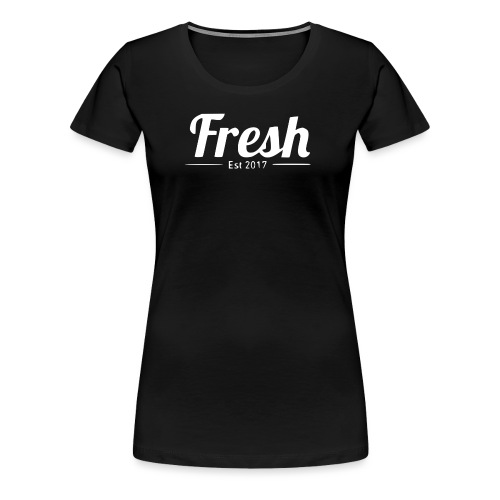 white logo - Women's Premium T-Shirt