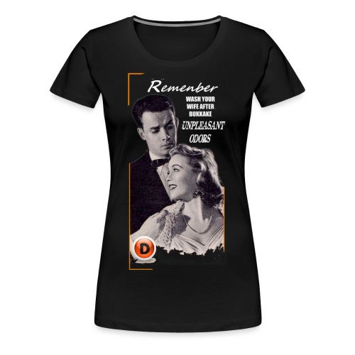vintage advice - Women's Premium T-Shirt