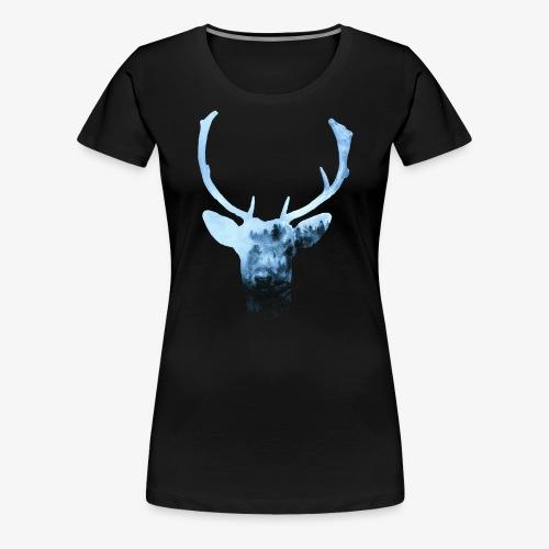 Deer's Spirit - Maglietta Premium da donna