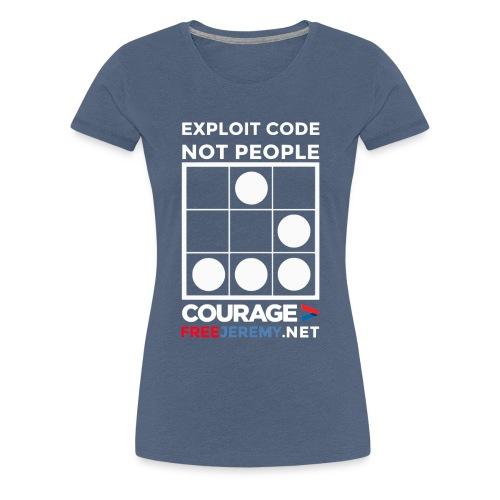 sketch2 highres white png - Women's Premium T-Shirt