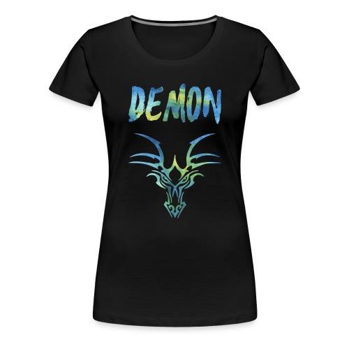 Demon - Drachen - Frauen Premium T-Shirt