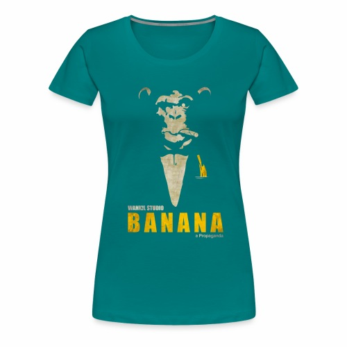 A Propaganda (transparent) - T-shirt Premium Femme