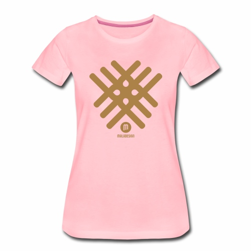 Maladesign - Naisten premium t-paita