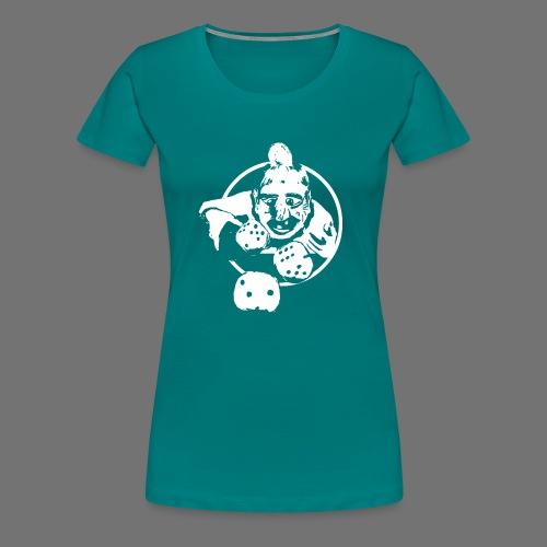 Professional Gambler (1c valkoinen) - Naisten premium t-paita