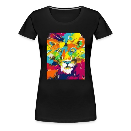 Abstrakt Tier - Frauen Premium T-Shirt