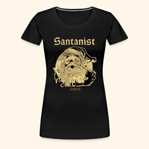 Ugly Christmas Design Santanist für Weihnachten - Frauen Premium T-Shirt
