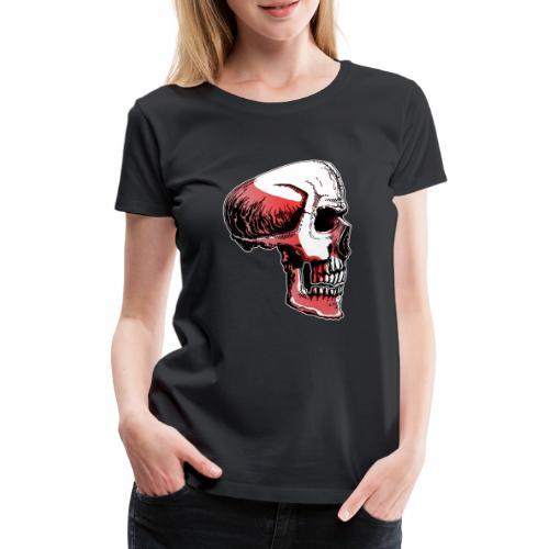 Crimewear© Skullside collored - Premium-T-shirt dam